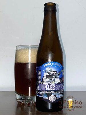 La cerveza John Lee Blues de Birra & Blues Strong Ale