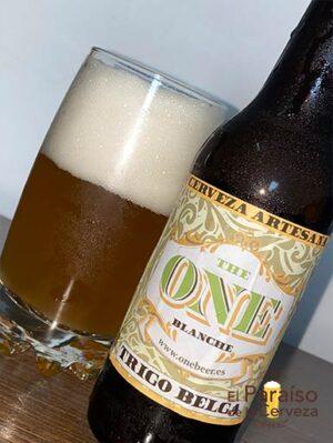 La cerveza The One Blanche una de trigo de estilo belga