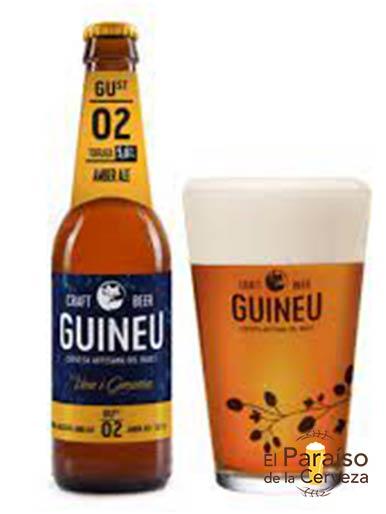 Cerveza artesana Guineu Amber Ale