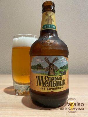 La cerveza Stary Melnik Iz Bochonka Myagkoe o Molino Viejo Rusa
